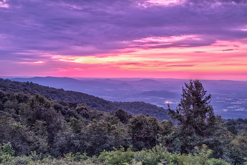 shenandoah virginia clouds landscape landscapemountain sunrise