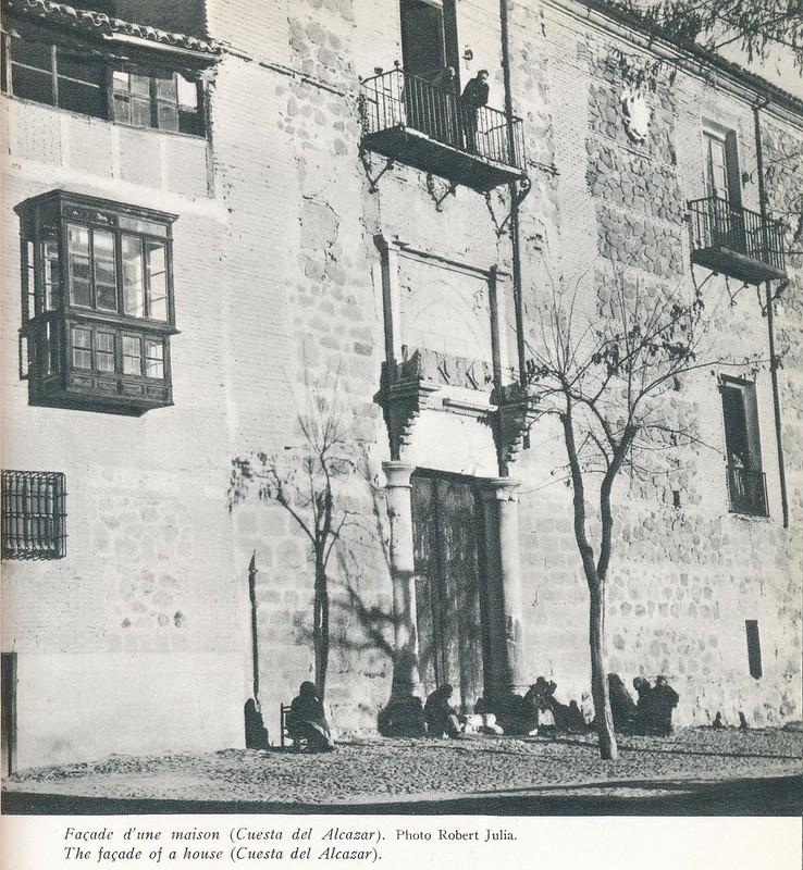 Palacio de Fuensalida. Libro de Víctor Crastre. Foto de Robert Julia