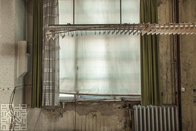 dusty curtains