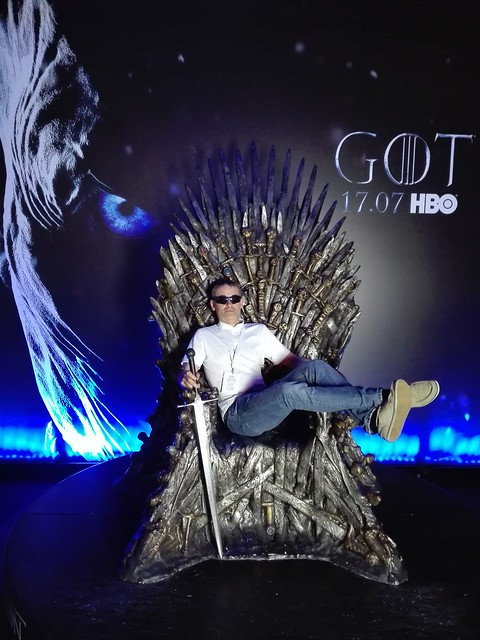 Iron_Throne Warsaw Comic Con 2017