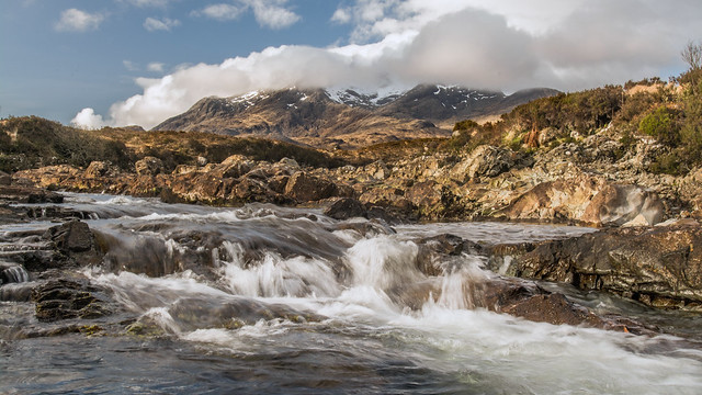 Feeling Cool in The Cuillin Mountains ... Skye Isle