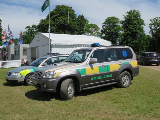 Vehicles at Sandringham.