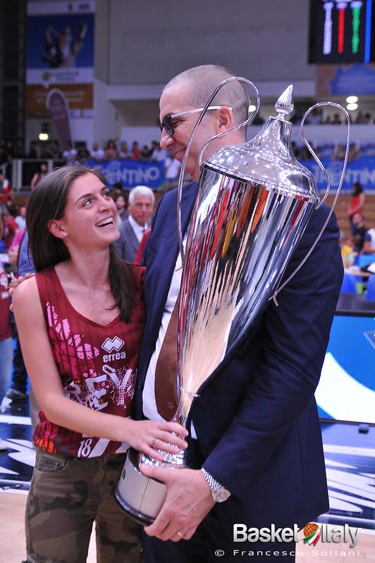 Trento / Reyer: Walter De Raffaele e la figlia
