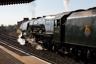 Duchess of Sutherland at Leamington | by David likes trains