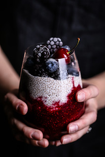 Olives for Dinner | Mixed Berry Chia Pudding