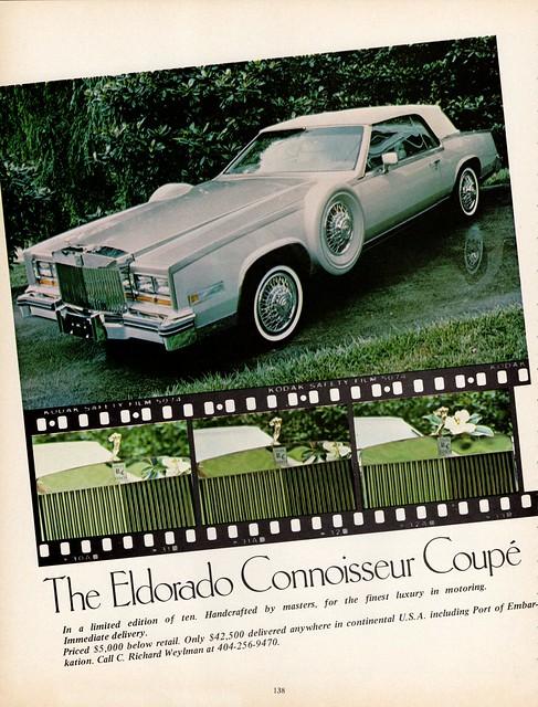 1982 Cadillac Eldorado Connoisseur Coupe