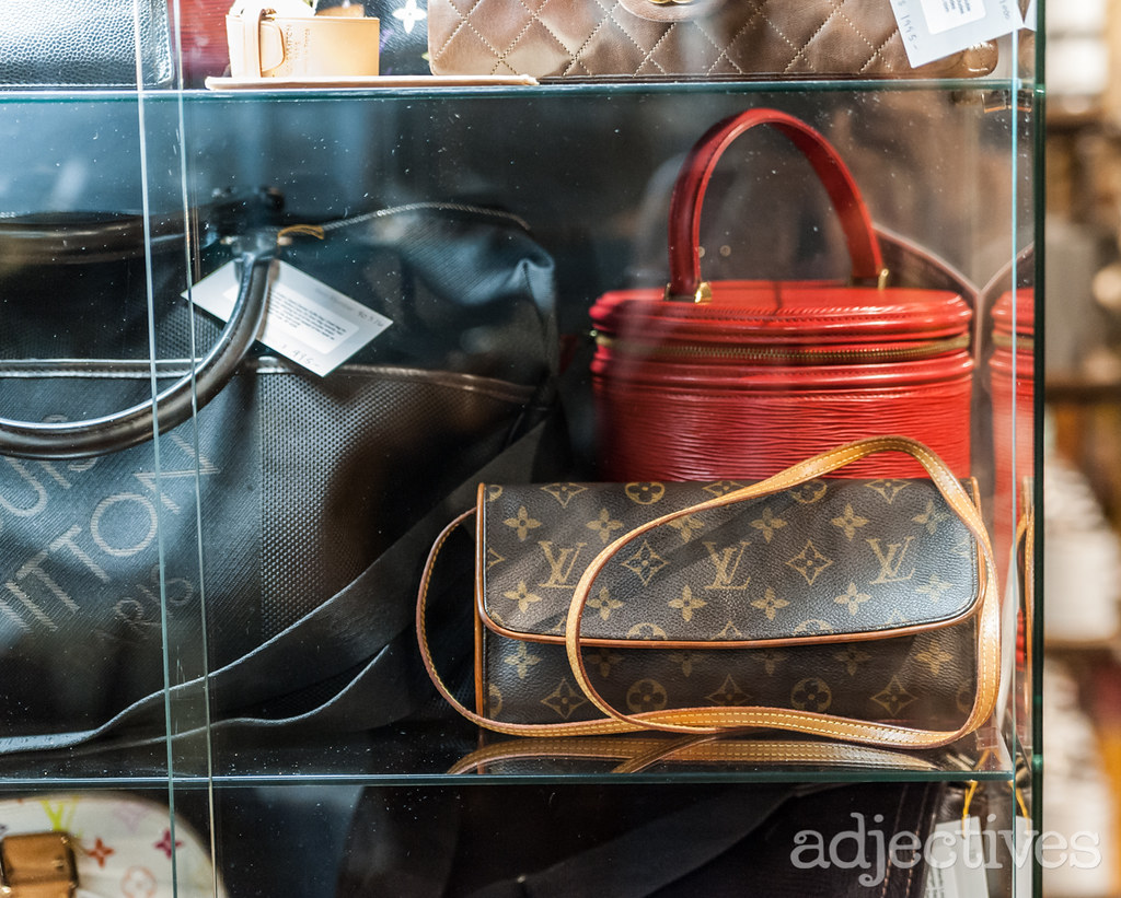 Vintage Louis Vuitton by Trent Brady at Adjectives Winter Garden