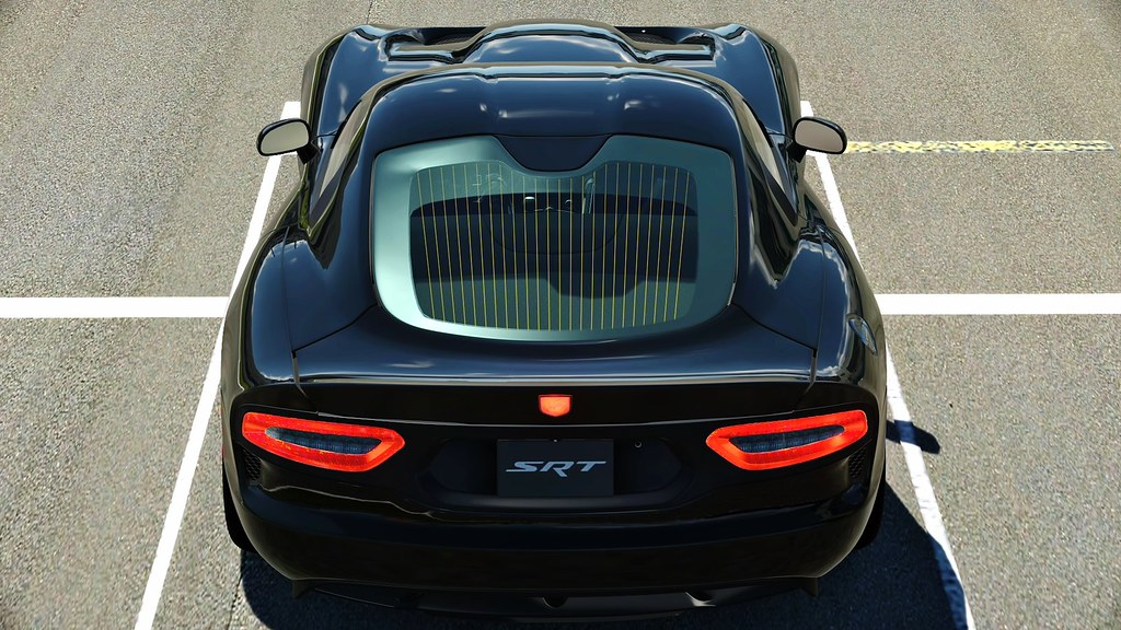 Dodge SRT Viper GTS Nice Perspective