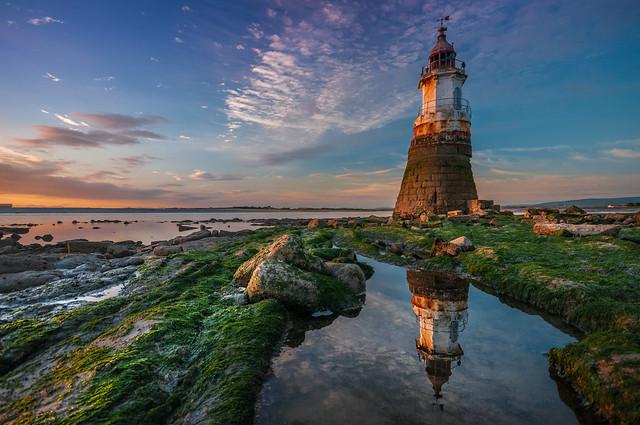 On the mend.....Plovar Scar Lighthouse