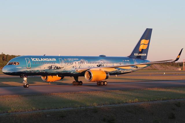Icelandair Boeing 757-256 TF-FIR 170602 ARN
