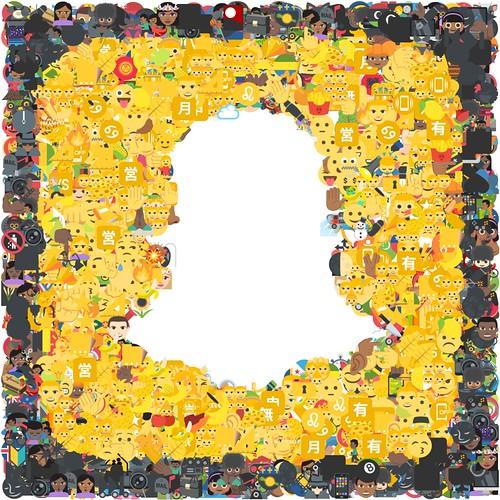 snapchat logo emoji | by mark knol