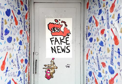 Fake News #Canada150 | by Coastal Elite