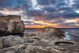 Sunset on Gozo Island. | by lskornog