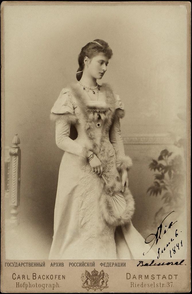Российская Империя на фотографиях. Царица. Alix von Hessen. Empress Alexandra Feodorovna /2/