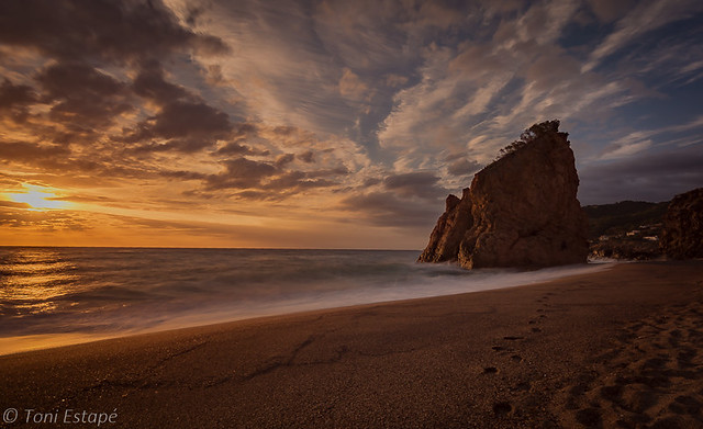 Albada a Illa Roja, Begur
