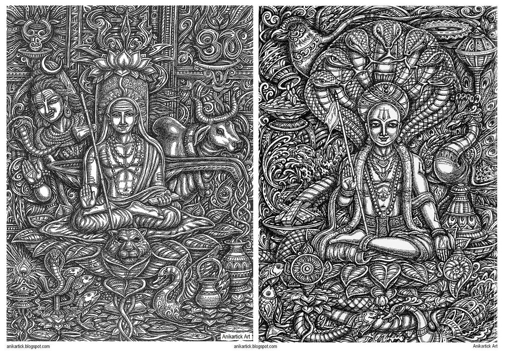 ADI SHANKARA and RAMANUJA   ADI SHANKARA / Life History Adi …   Flickr