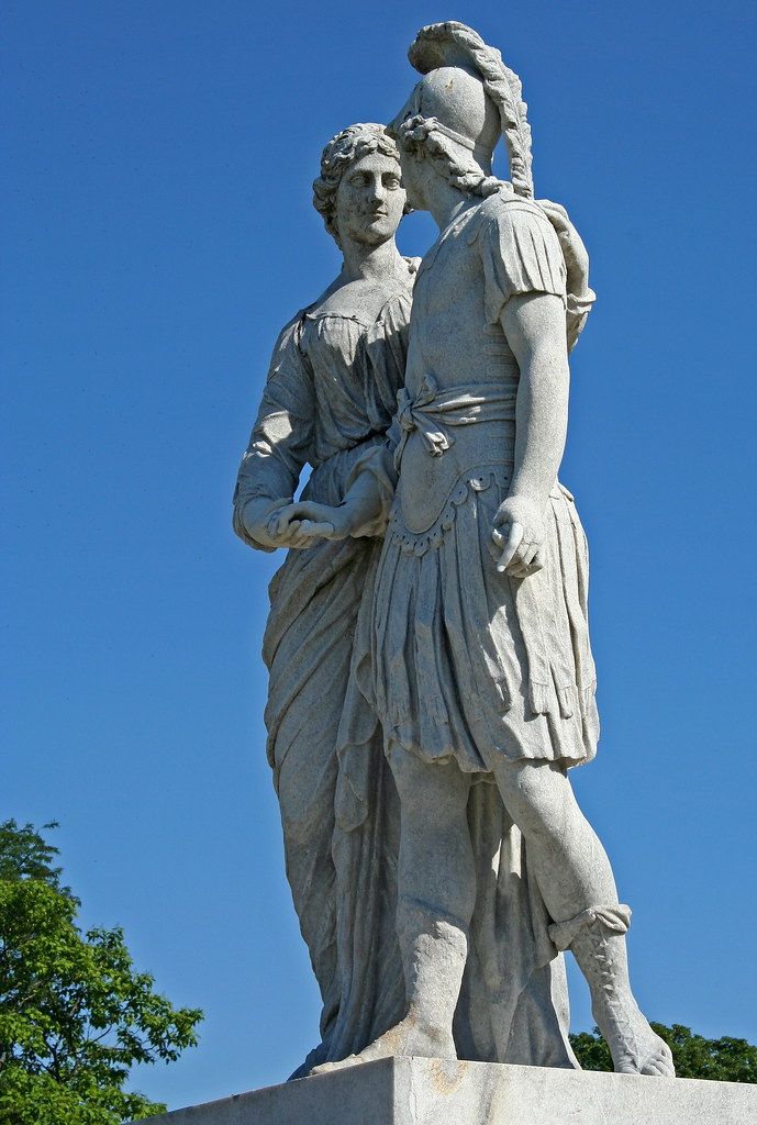 Alexander and Olympias