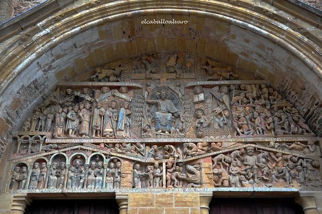 540 - Tímpano - Abadía Sainte Foy - Conques (France).
