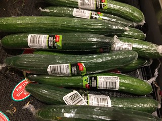 cucumbers in plastic (Coles supermarket) | by anna_gregory