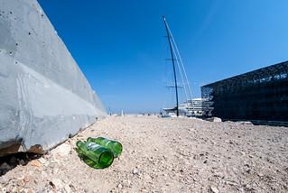 Heineken jetée jétée du Mucem | by Bernard Ddd