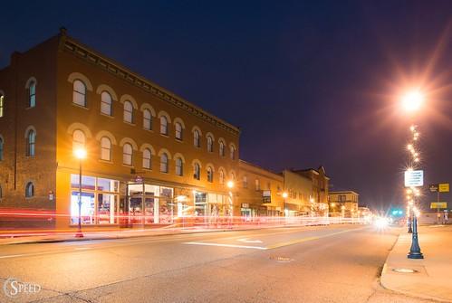 radford downtownradford michaelspeed nikond750 bluehour southwestvirginia