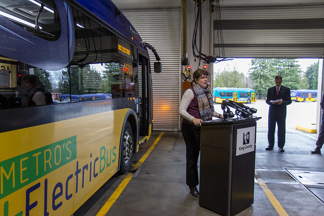 King County Battery Bus Announcement