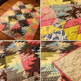 Bee Germany quilt from last year finally finished. Details.