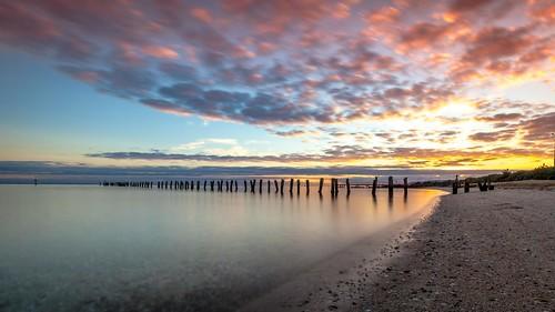 bellarine canon cliftonsprings curlewis jetty sunrise sunset victoria australia au