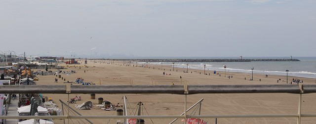 Beach from pier