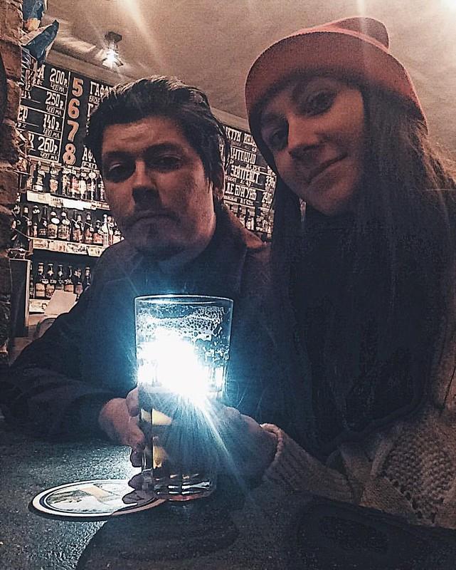 8. С женой Леной