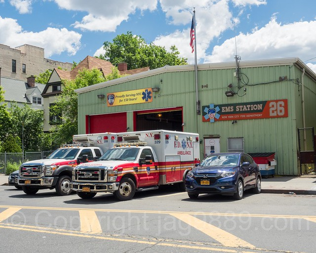 FDNY Emergency Medical Service Station 26, Morrisania, Bronx, New York City