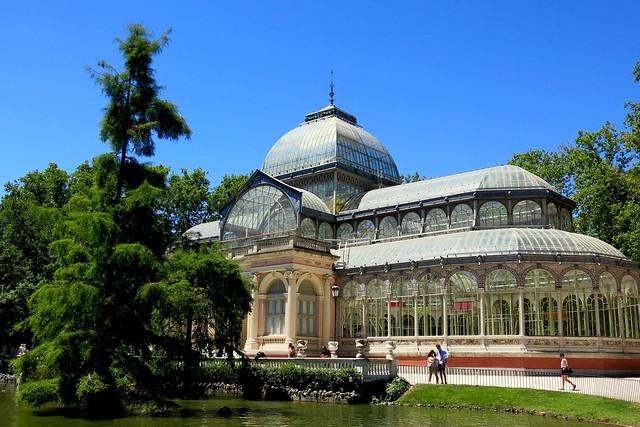 El Palacio de Cristal de El Retiro