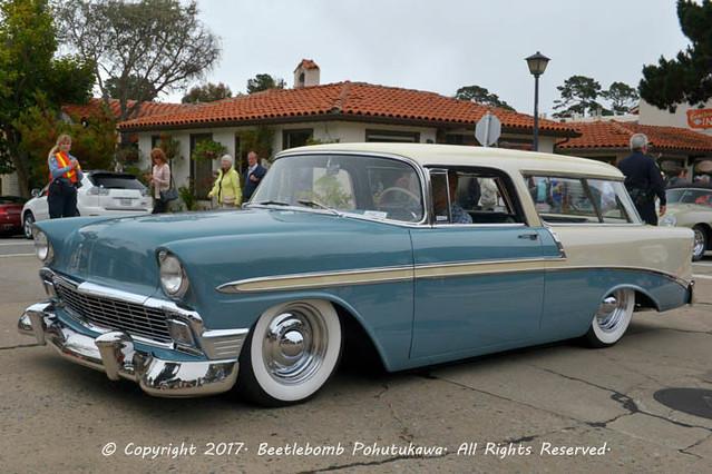 2016: Concours on the Avenue, Carmel: 1956 Chevrolet BelAir Nomad