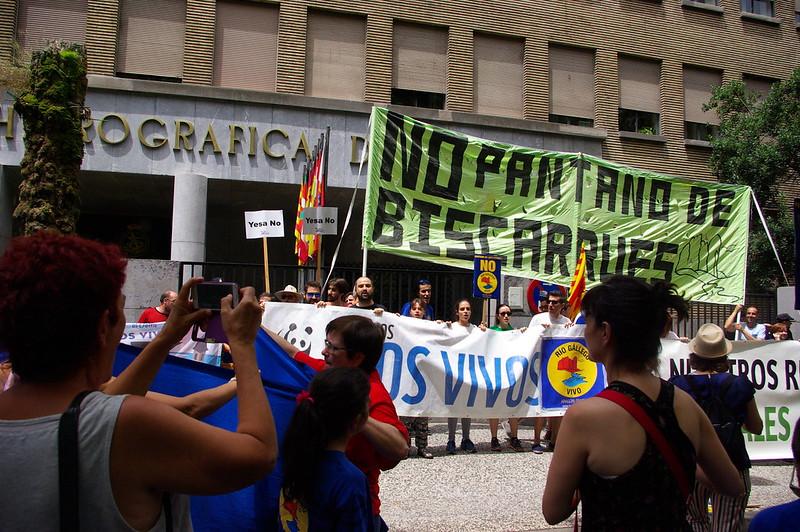 Manifestación Rio Galligo vivo #25JRioGallegoVivo