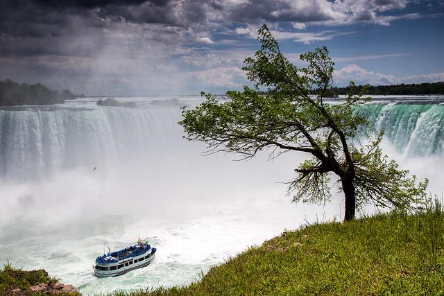 Lost in the Niagara Falls