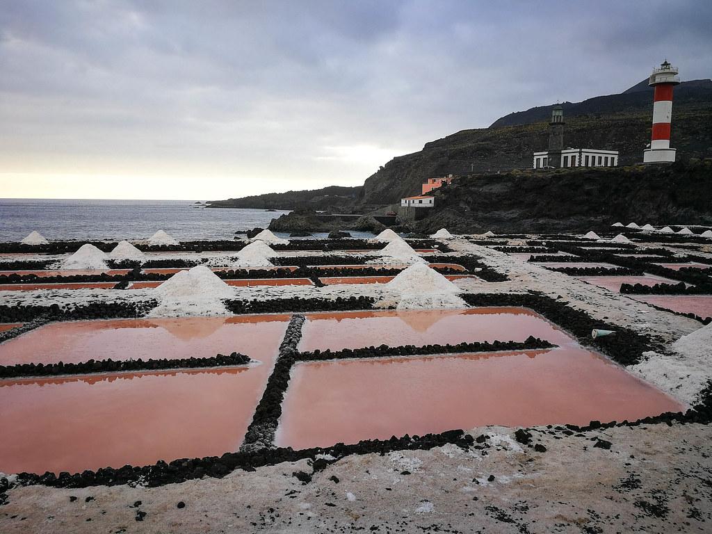Salinas de Fuencaliente en La Palma recomendable al visitar las islas Canarias