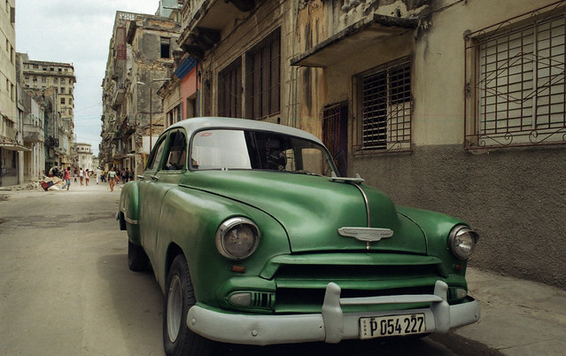 Green Chevy [Cuban Project 014]