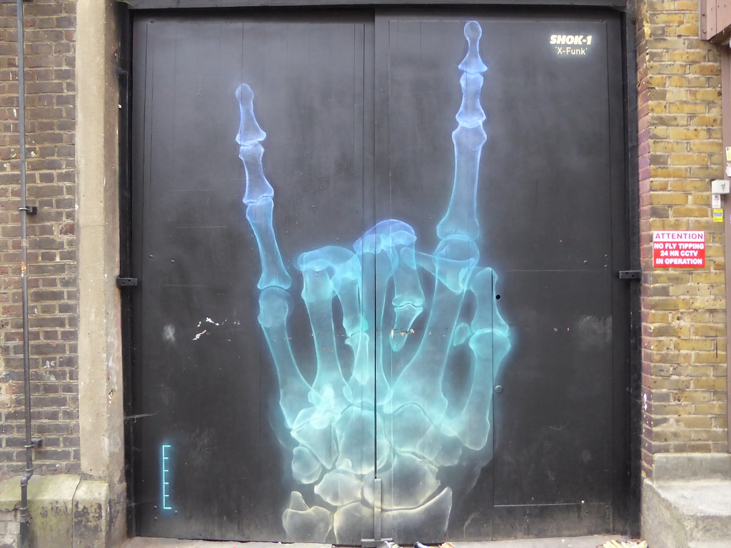 Shok1 graffiti shoreditch by duncan