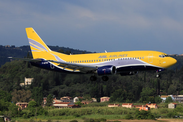ASL Airlines France  Boeing 737-3B3(QC) F-GZTM