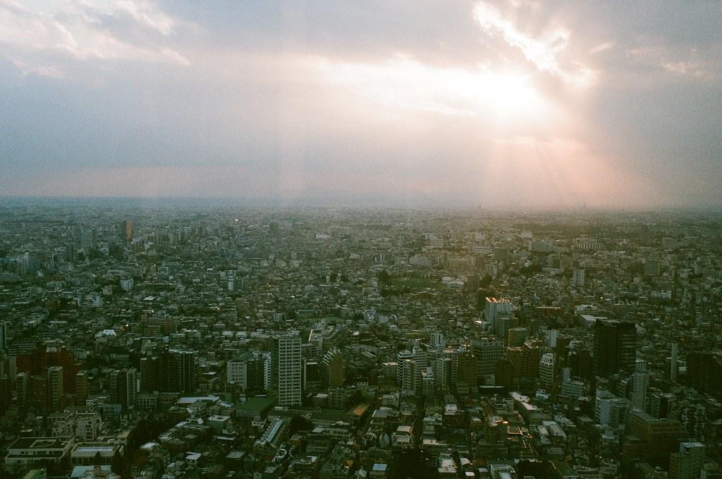 東京都庁 Tokyo, Japan / AGFA VISTAPlus / Nikon FM2