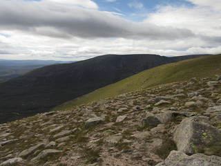 South top of Beinn a' Bhuird from Carn Eas | by malky_c