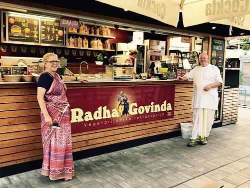 radha govinda street food