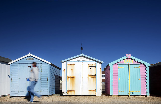 26/52 (2017): Beach hut walk.