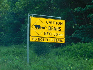 Bear Caution Sign | by jimmywayne