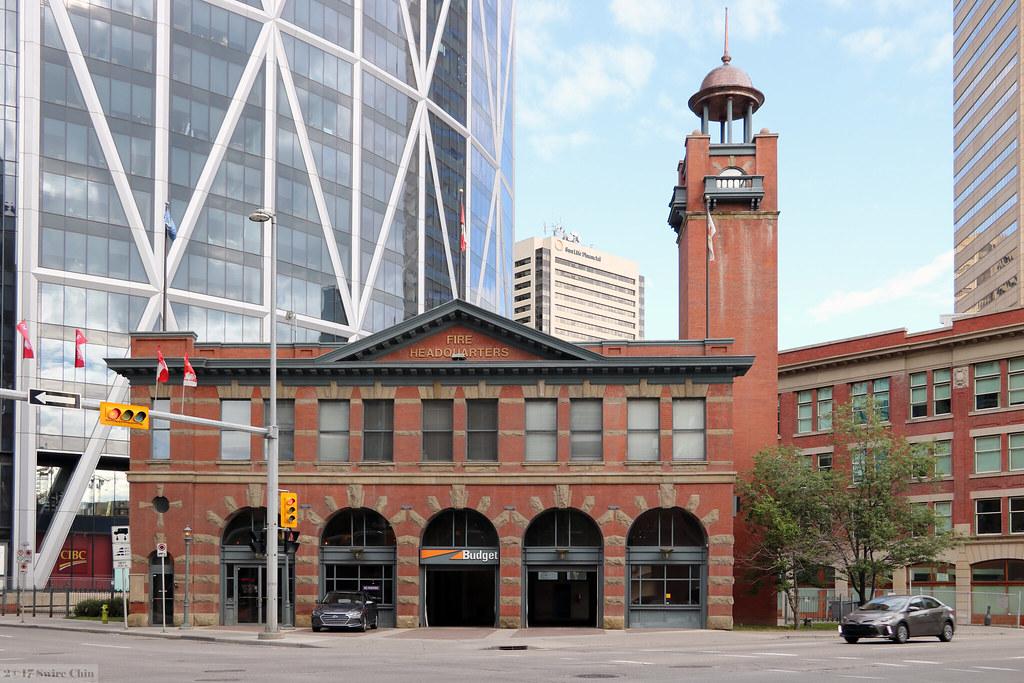 Budget Fire Headquarters Calgary S Historic Firehall No