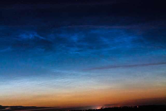 Noctilucent Clouds (3) 2:52am BST