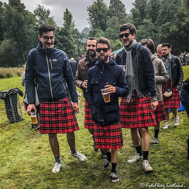 Highland Games Tourists