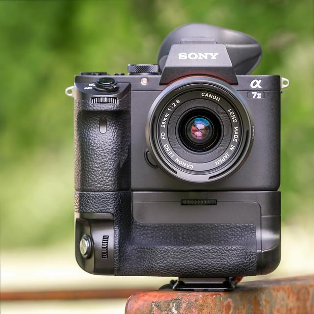 Canon nFD 28mm ƒ/2.8 on SONY a7II