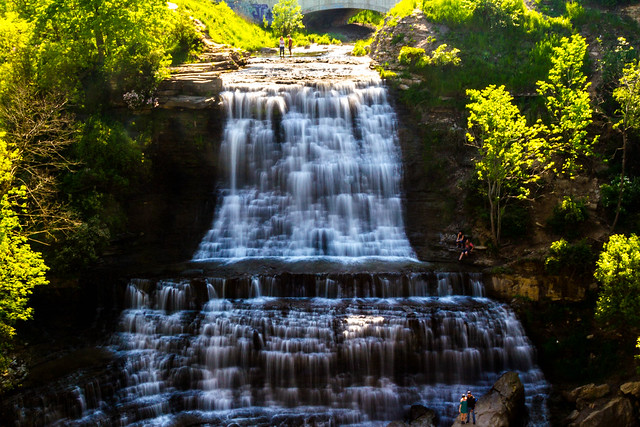 Hamilton - waterfall A 5a
