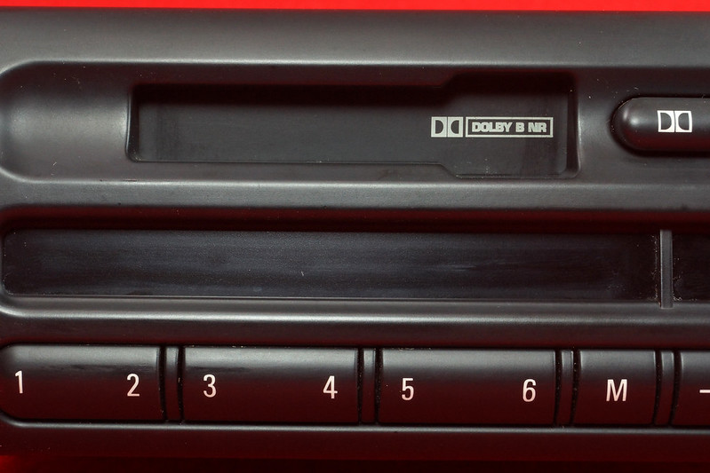RD16592 Original BMW Business Mini R50 R52 R53 Dolby Kassettenradio Cooper One Autoradio 6512 6923503-01 DSC00756